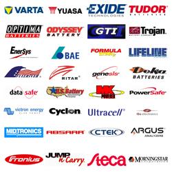 Marca de Batería y Accesoríos