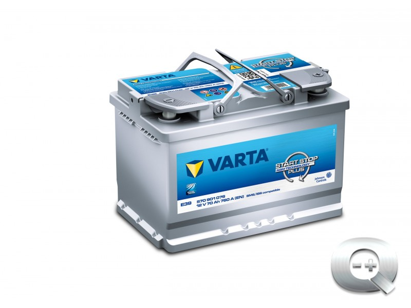 Comprar la Batería Varta Start-Stop Plus AGM E39