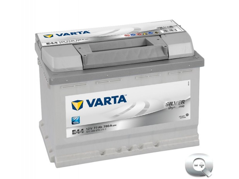 Comprar barato la Batería Varta E44 Silver Dynamic 77 Ah