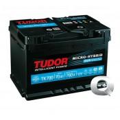 Venta de la Batería Tudor Start - Stop AGM TK700