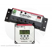 Controlador PWM SunSaver-SSD-25 y RM Display